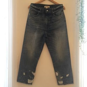 Madewell Jeans - ✨NWOT Limited Edition R&T HR Slim Boyjeans, sz. 28
